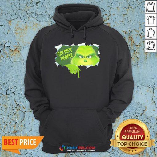 Pretty The Grinch Six Feet People Hoodie - Design By Habittees.com