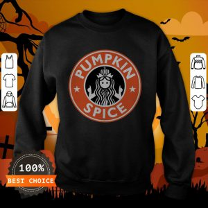 Pumpkin Spice Funny Coffee Lovers Latte Halloween Sweatshirt
