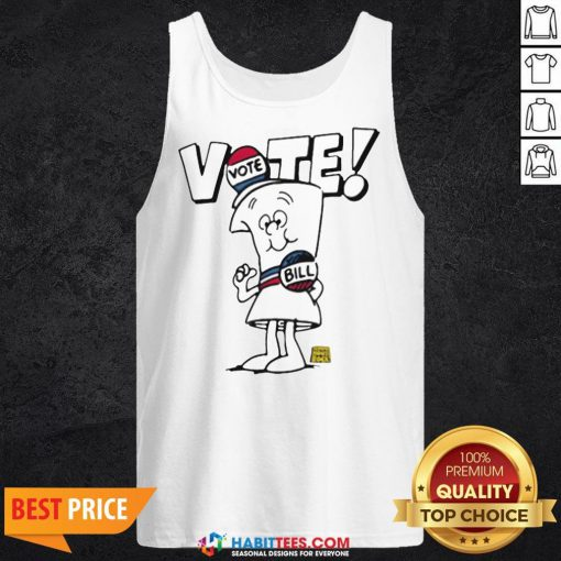 Schoolhouse Rock Vote with Bill Tank Top