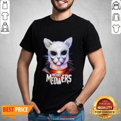 Pretty Michael Myers Michael Meowers Shirt- Design by Habittees.com
