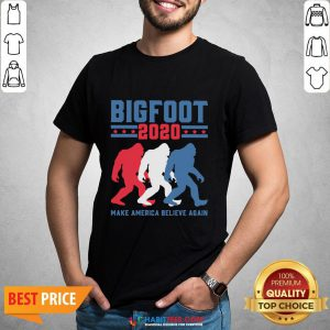 Bigfoot 2020 Make America Believe Again Tank Top- Design by Habittees.com- Design by Habittees.com