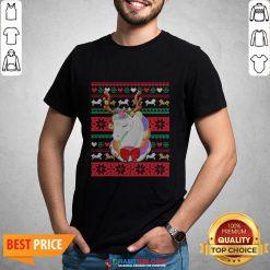 Original Reindeer Unicorn Ugly Christmas Shirt
