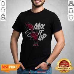 Nice Mix It Up Braves ATL T-shirt- Design by Habittees.com