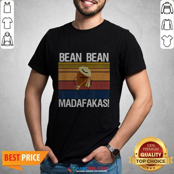 Coffee Bean Bean Madafakas Vintage Shirt- Design by Habittees.com