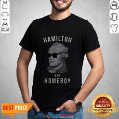 Premium Hamilton Is My Home Boy Shirt- Design by Habittees.com