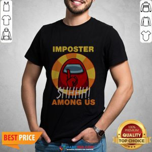 Impostor Among-us Funny Game Sus Shirt- Design by Habittees.com