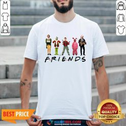Characters Elf Grinch Kevin Friends Shirt- Design by Habittees.com