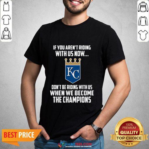 MLB Kansas City Royals Baseball We Become The Champions 2020 T-Shirts