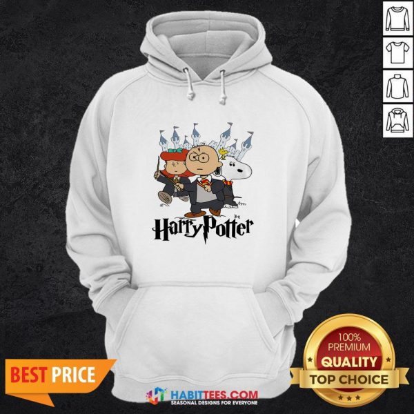 Snoopy And Charlie Brown And Lucy Van Pelt Harry Potter Hoodie