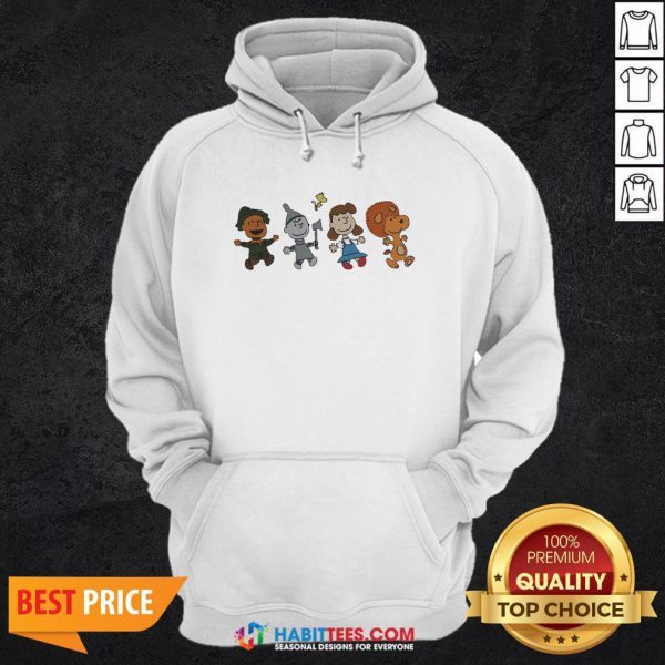 Snoopy And Friends Happy Hoodie
