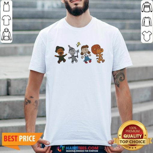 Snoopy And Friends Happy T-shirt