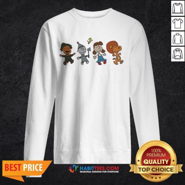 Snoopy And Friends Happy Sweatshirt