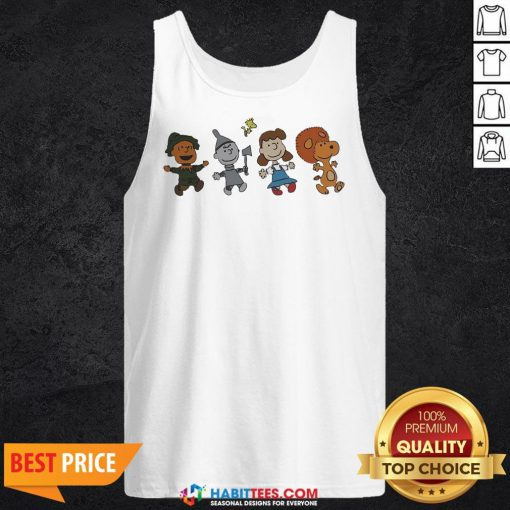 Snoopy And Friends Happy Tank Top