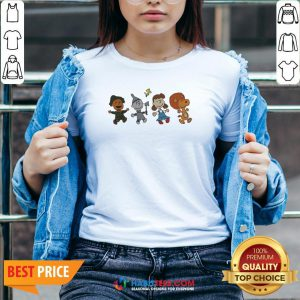 Snoopy And Friends Happy V-neck
