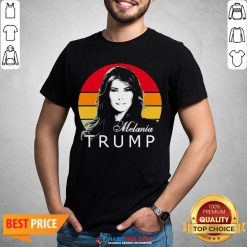 So Melania Trump First Lady Of The United States Vintage Retro Shirt - Design By Habittees.com
