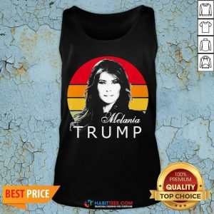 So Melania Trump First Lady Of The United States Vintage Retro Tank Top - Design By Habittees.com