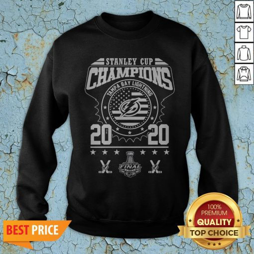 Stanley Cup Champions Tampa Bay Lightning 2020 Sweatshirt