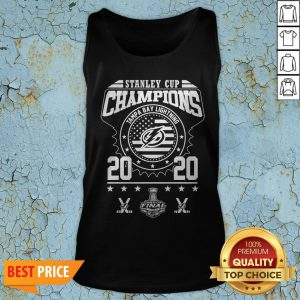 Stanley Cup Champions Tampa Bay Lightning 2020 Tank Top