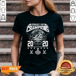 Stanley Cup Champions Tampa Bay Lightning 2020 V-neck