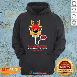 Super Christmas Pharmacy Tech On Duty Reindeer Nurse Hoodie - Design By Habittees.com