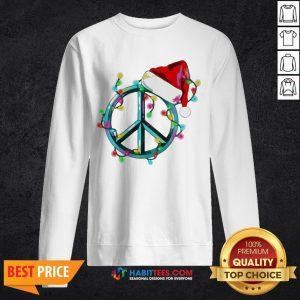 Funny Hippie Happy Christmas SweatShirts