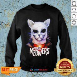 Pretty Michael Myers Michael Meowers SweatShirt- Design by Habittees.com