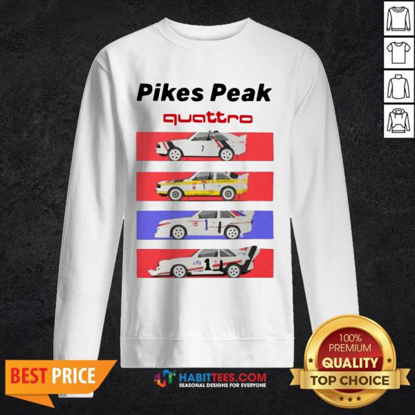 Pretty Pikes - Design by Habittees.comPeak Quattro SweatShirt