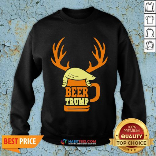 Official Beer Trump T-shirts - Design by Habittees.com