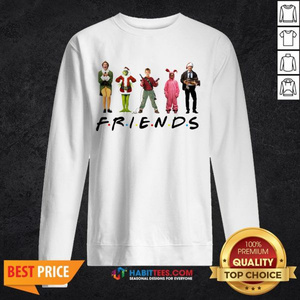 Characters Elf Grinch Kevin Friends SweatShirt- Design by Habittees.com