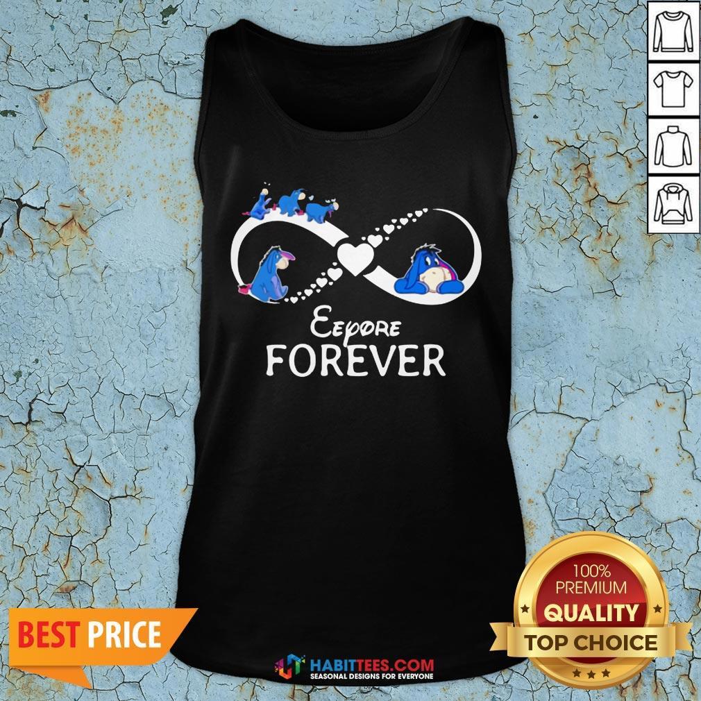Top Infinity Eeyore Forever Tank Top- Design by Habittees.com