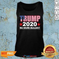 Official Trump 2020 No More Bullshit Tank Top - Design by Habittees.com