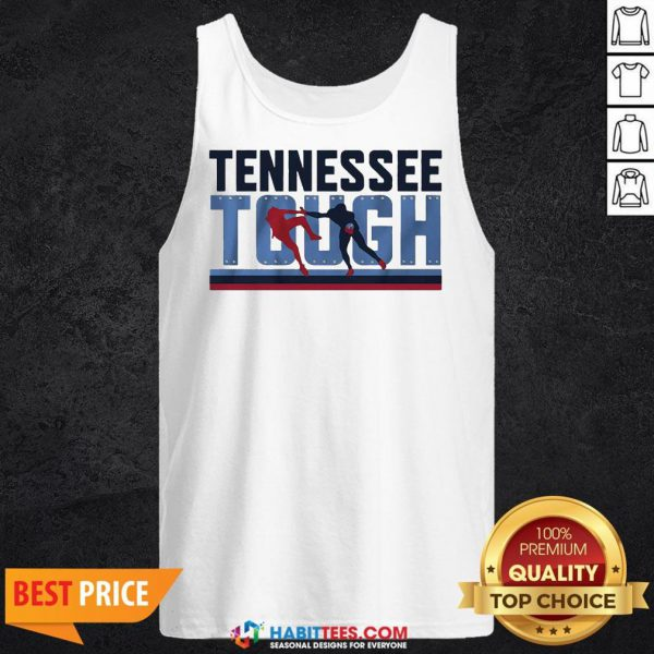 Awesome Tennessee Tough Tank Top- Design by Habittees.com