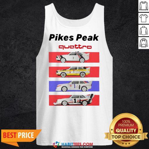 Pretty Pikes Peak Quattro Tank Top- Design by Habittees.com