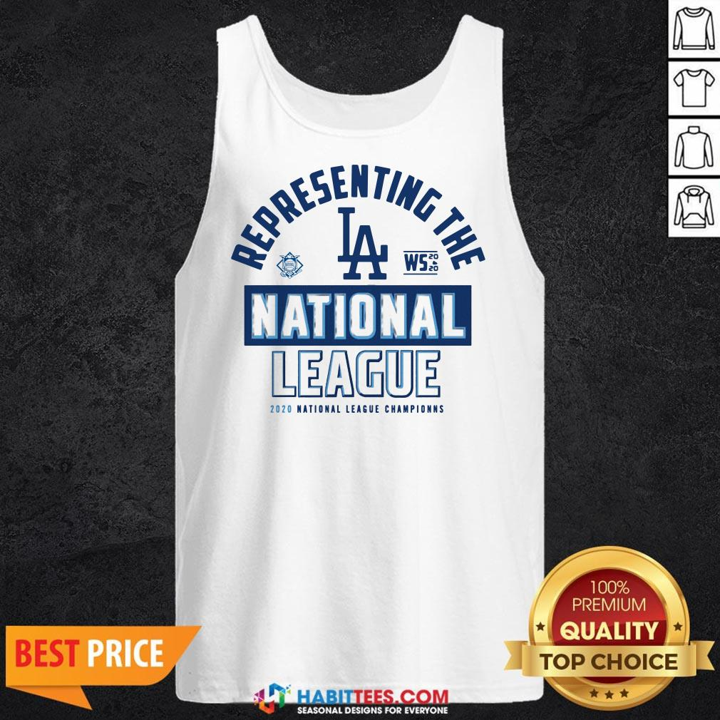 Dodgers NL West Champs 2020 Tank Top- Design by Habittees.com