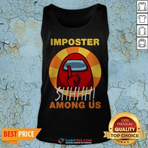 Impostor Among-us Funny Game Sus Tank Top- Design by Habittees.com