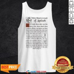 Premium Holy Hand Grenade Of Antioch Tank Top- Design by Habittees.com