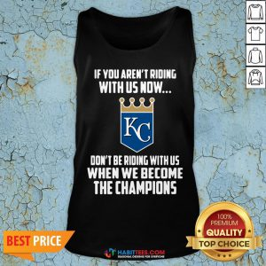 MLB Kansas City Royals Baseball We Become The Champions 2020 Tank Top