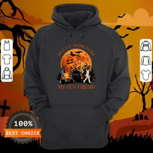 The Beatles Hello Darkness My Old Friend Hoodie