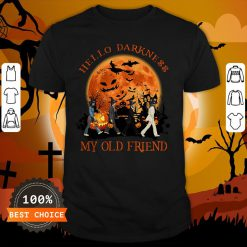 The Beatles Hello Darkness My Old Friend Shirt