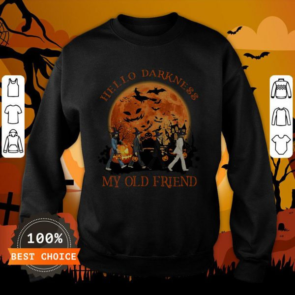 The Beatles Hello Darkness My Old Friend Sweatshirt