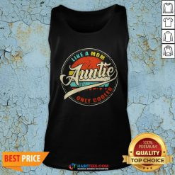 Vinatage Like A Om Auntie Only Cooler S Sweater Tank Top