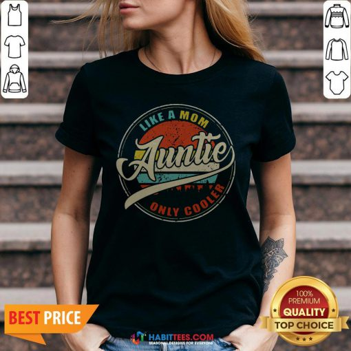 Vinatage Like A Om Auntie Only Cooler S Sweater V-neck