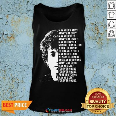 Vip Jimi Hendrix May Your Hands Always Be Busy May Your Feet Always Be Swift May You Have A Strong Foundation Tank Top - Design By Habittees.com