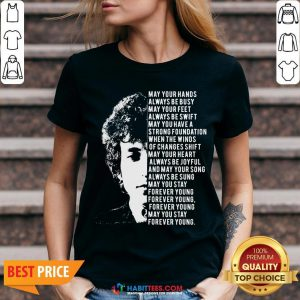 Vip Jimi Hendrix May Your Hands Always Be Busy May Your Feet Always Be Swift May You Have A Strong Foundation V-neck - Design By Habittees.com