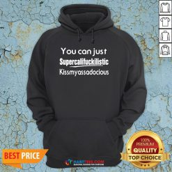 You Can Just Supercalifuckilistic Kiss My Ass Adocious Hoodie