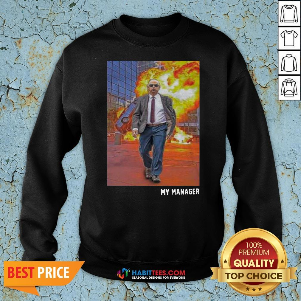 Awesome Fire Is Chaos Of Human Sweatshirt