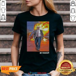 Awesome Fire Is Chaos Of Human V-neck