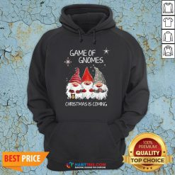 Awesome Game Of Gnomes Christmas Is Coming Hoodie
