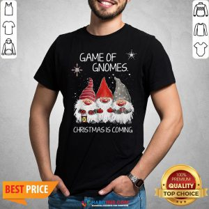Awesome Game Of Gnomes Christmas Is Coming Shirt