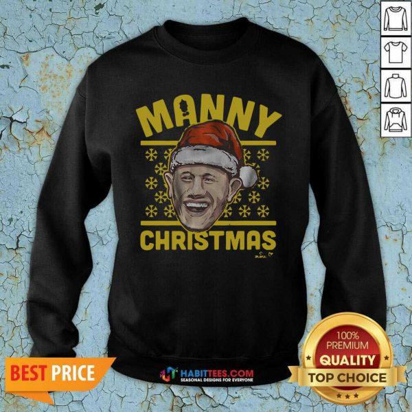 Awesome Manny Christmas San Diego Sweatshirt
